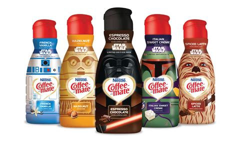 Nestlé?s Coffee mate releases limited edition Star Wars themed creamer bottles   2015 11 19