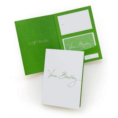 Vera Bradley Gift Cards - gift card in green vera bradley