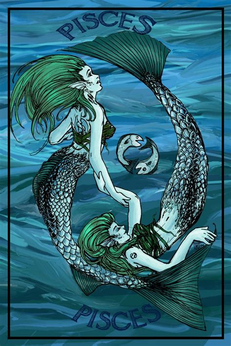 mermaid pisces tattoo 249 best pisces images on mermaids flatware