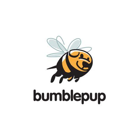 design logo dog sold bumblepup bumblebee dog logo design logo cowboy
