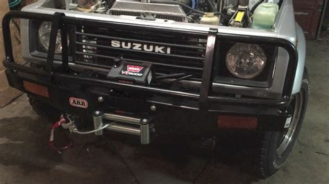 Suzuki Samurai Winch Suzuki Samurai Arb Bumper And Warn Winch