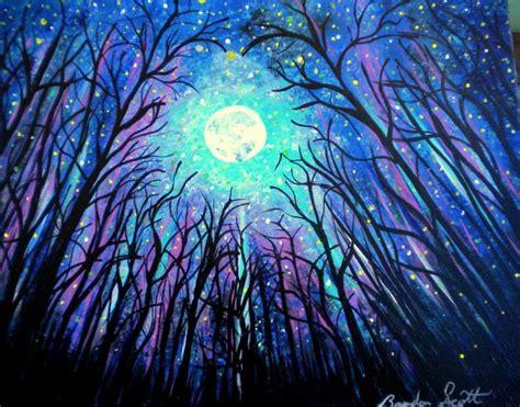 paint nite brandon saatchi energy painting by brandon