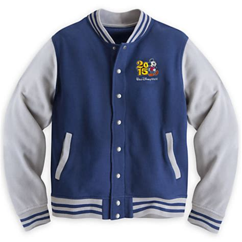Jaket Mickey Blue your wdw store disney jacket 2015 mickey mouse varsity
