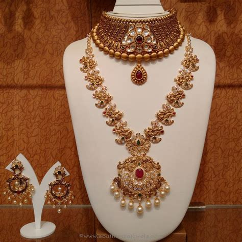 Indian Wedding Jewellery by South Indian Wedding Jewellery Designs South India Jewels