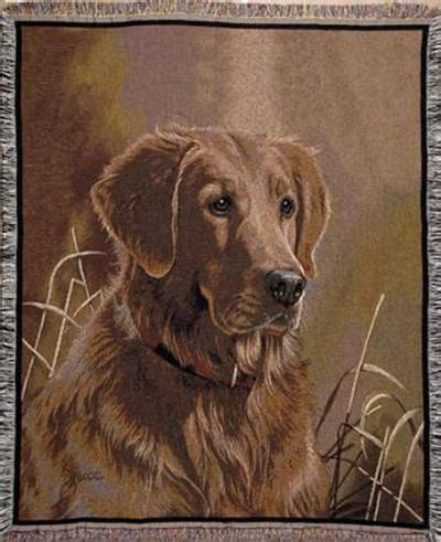 golden retriever tapestry a large selction of pedigree tapestry throws blankets by artists rober may jim