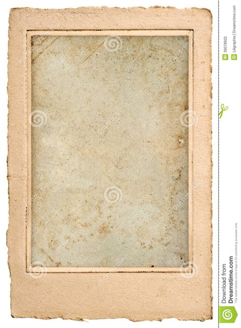 photo frame cards blank photo post card with frame stock photo image