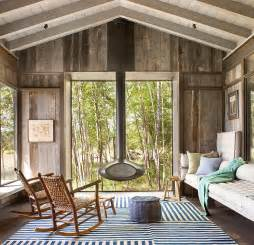 Rustic Modern Home Decor by Timeless Allure 30 Cozy And Creative Rustic Sunrooms