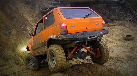 Fiat Panda Puts Osama Out Of Work by Sander Fiat Panda 4x4 Road Zostrih Brezno 2 11