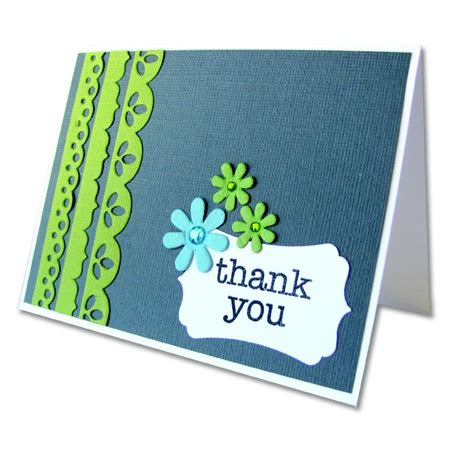 easy to make thank you cards thank you card and easy to make card