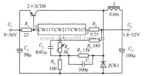 integrated circuit power supply switching integrated regulated power supply with 3a output current power supply circuit
