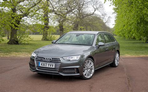 Audi A4 Avant Test extended test audi a4 avant honda cr v and renault grand