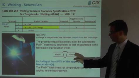 section ix asme code section ix pwht w 228 rmenachbehandlung youtube