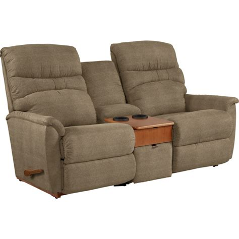 Coleman Loveseat la z boy 508 coleman powerreclinexr loveseat with console discount furniture at hickory park