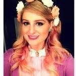 New Headband Bayi Meghan Pink meghan trainor megtrainor love