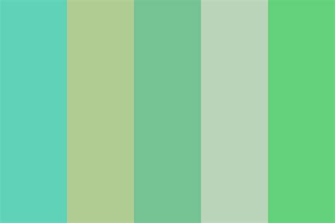 jade roses color palette