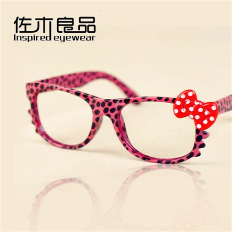 20pcs lot hello glasses frame bowknot and