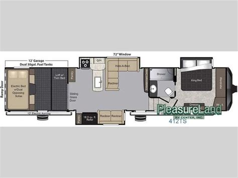 toy hauler floor plans 1000 images about 5th wheel toy haulers on pinterest