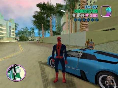 Gta Vice City Spiderman Mod Game Free Download | full download gta vice city venon spiderman