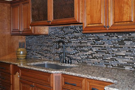 glass mosaic tile kitchen backsplash captivating black and blue ceramic mosaic tile backsplash