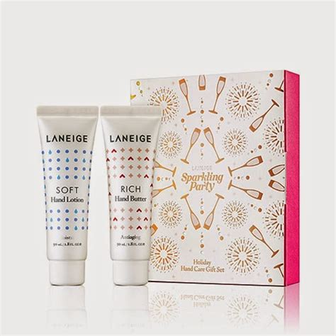 Laneige Pouch Gold the rebel sweetheart gift guide 2014 gift sets