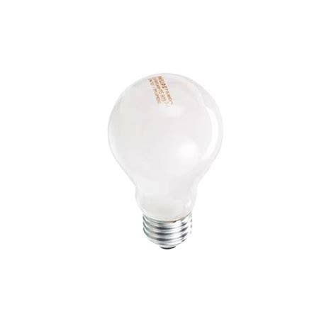 ecosmart light bulbs ecosmart 60w equivalent eco incandescent a19 soft white