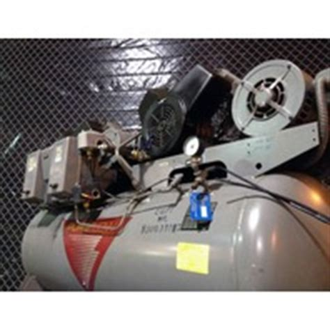 johnson controls pureflow 6 hp 120 gallon 4 cylinder air compressor big dual