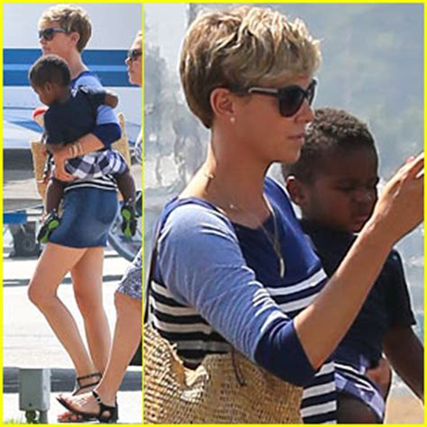 Charlize To Reporter You My Boyfriend Will Kill You by Charlize Theron Takes Jackson To Fit For