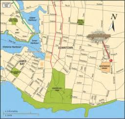 Victoria Canada Map by Victoria Canada Map