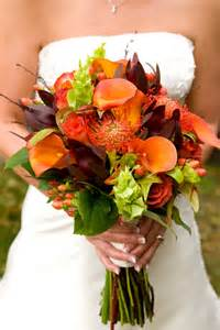 fall wedding flowers and bouquets sang maestro