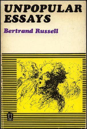 Bertrand Unpopular Essays Ideas That Harmed Mankind by Unpopular Essays By Bertrand 目次 バートランド ラッセルのページ 分館