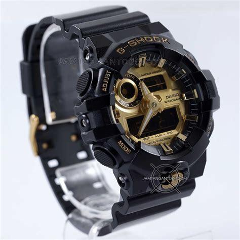 G Shock Ga 110 Dual Time Black Ori Bm Garansi 3 Bulan gambar g shock ori bm ga 710gb 1a black gold bagian