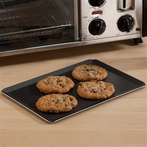 Baking Cookies In A Toaster Oven toaster oven cookie sheet nonstick cookie sheet kimball