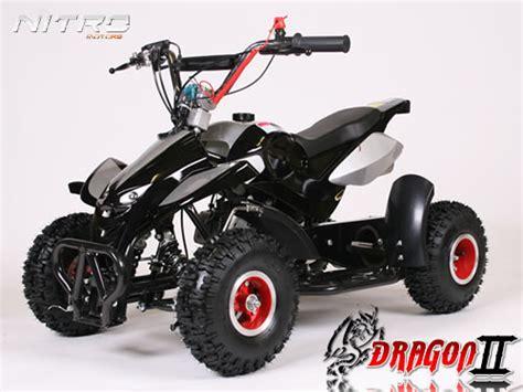 Pocket Quad Lackieren by Nitro 49cc Dragon 2 Kinderquad Mit Drossel Kinder Cross