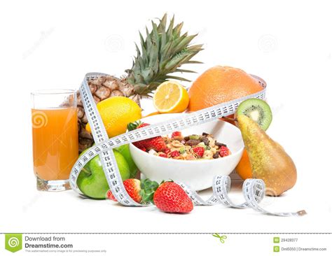 sle of weight loss diet diet weight loss breakfast concept with measure stock image image 29428377