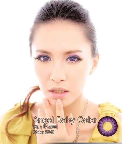 Softlens Eye Violet Ungu jual softlens baby color series violet ungu geo