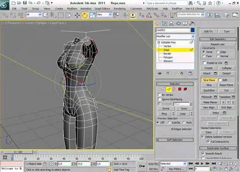 crear imagenes en 3d online gratis tutorial crear ropa en 3d studio max youtube