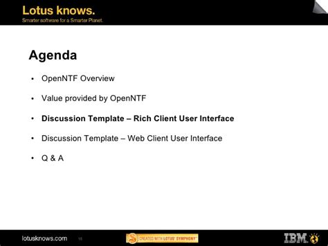 Ad113 Ibm Lotus Notes Discussion Template Next Generation And Oth Discussion Web Template