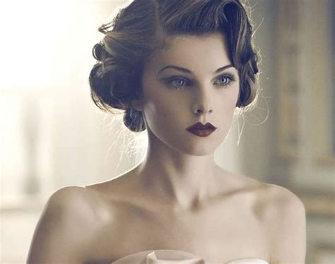 retro hairstyle updo short hair vintage hair must haves
