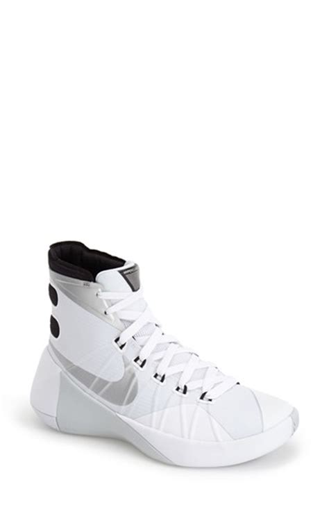basketball shoes and white lyst nike hyperdunk 2015 basketball shoe in white