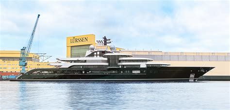 yacht news lurssen launches project thunder yacht charter