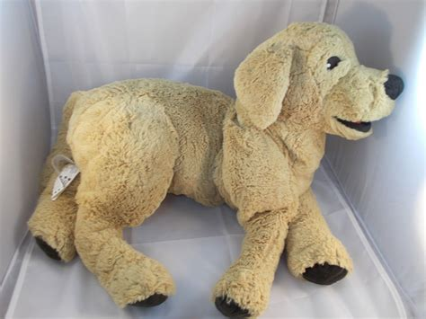 ikea dog ikea gosig golden retriever dog plush 27 5 what s it worth