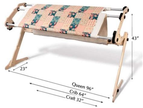 Quilting Frames Canada by Grace Ez3 Quilting Frame For Basting A Quilt