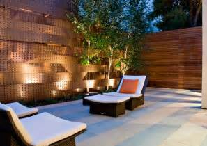 outside wall designs provoking practical privacy fences
