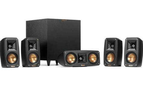 klipsch reference theater pack  channel home theater