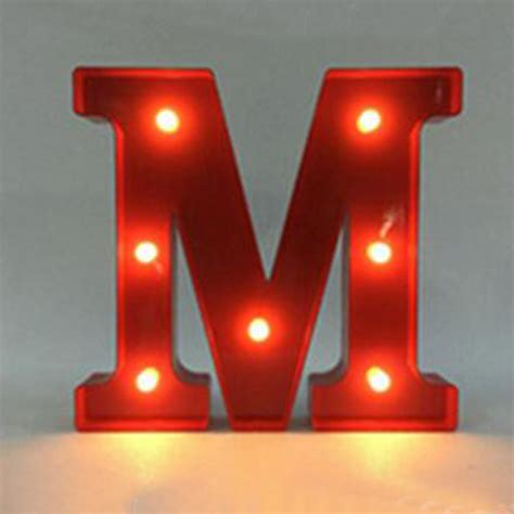 metal light up letters metal led 12 quot marquee letter lights vintage circus style