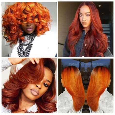 burnt orange color hair best 25 burnt orange hair color ideas on