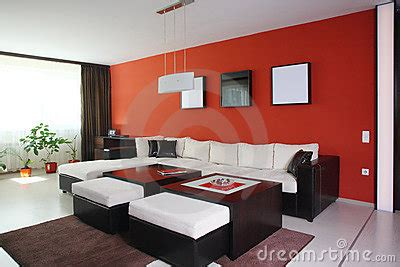 braune wand living room stock images image 17178934