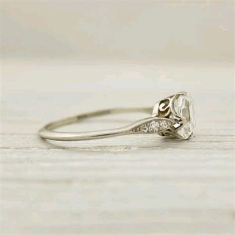 s antique engagement ring simple thin band