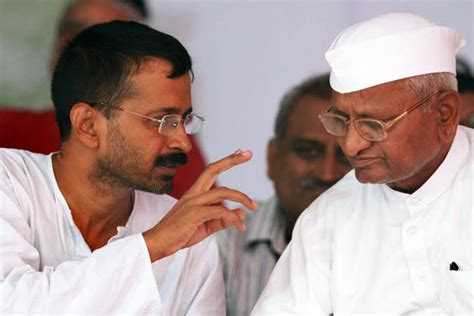 kejriwal biography in english anna hazare disappointed with aap kejriwal