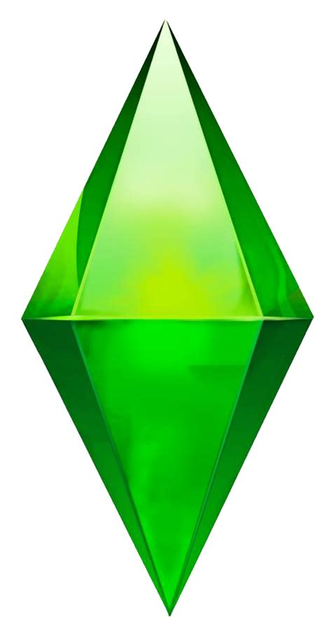 sims 4 logo transparent image the sims 4 plumbob png the sims wiki